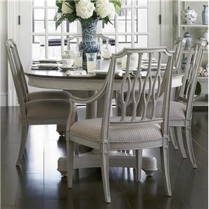 Stanley Furniture Charleston Regency 7 Piece Table and Chair Set