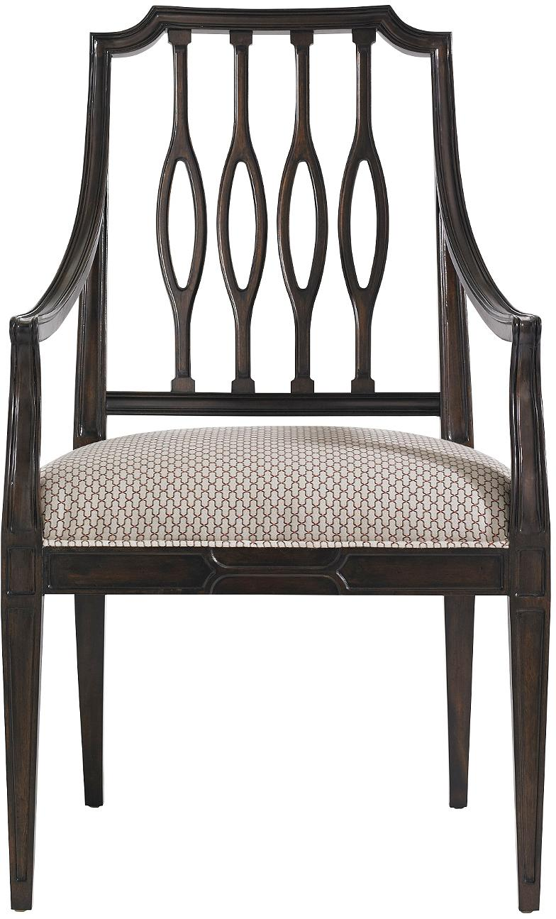 Stanley Furniture Charleston Regency Cooper Dining Arm Chair - Item Number: 302-11-70