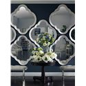 Stanley Furniture Charleston Regency Quatrefoil Wall Mirror with Step Molding - 302-23-33