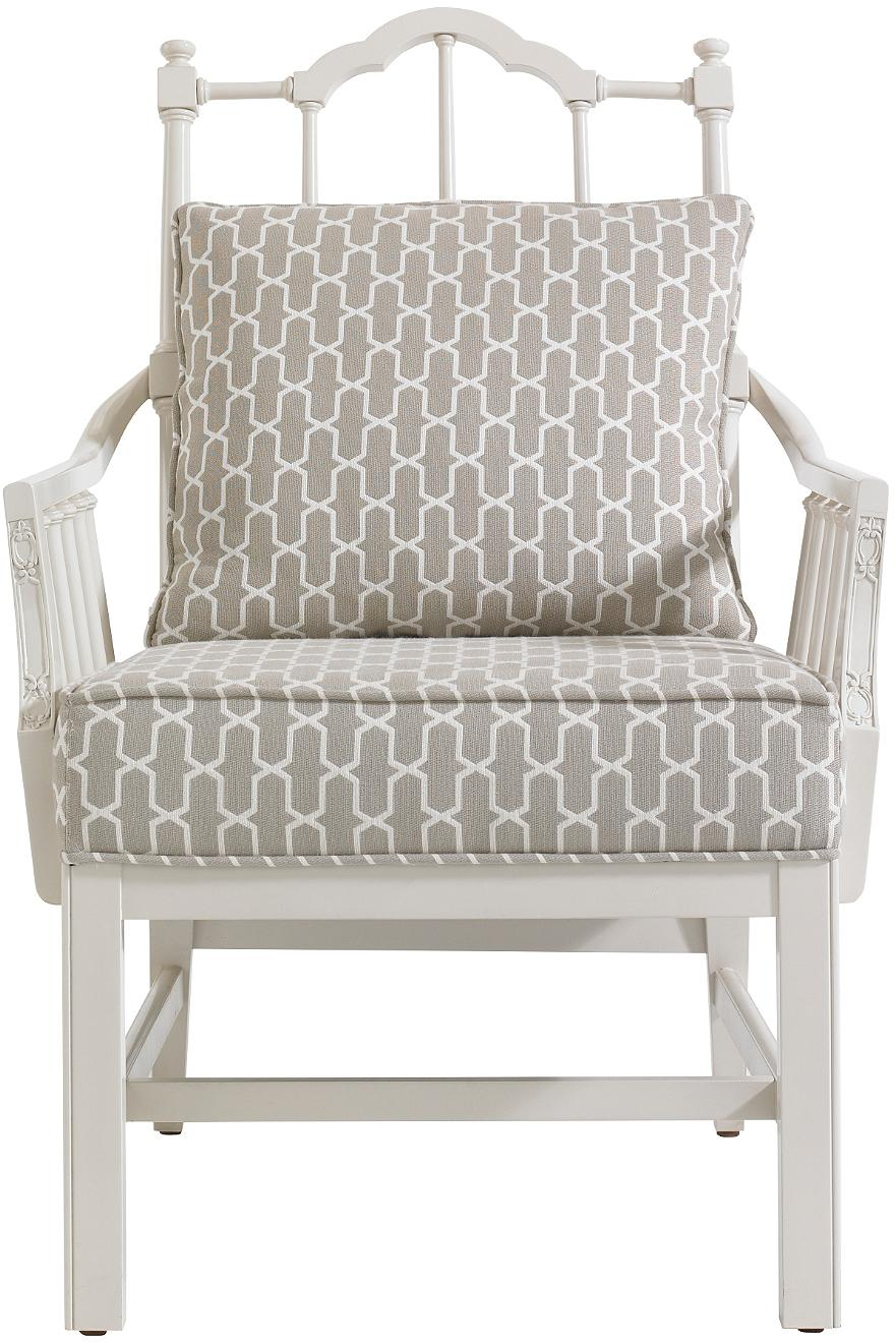 Stanley Furniture Charleston Regency Chippendale Planter's Chair - Item Number: 302-25-74
