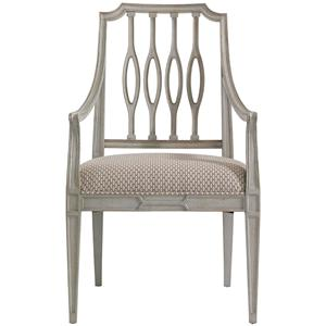 Stanley Furniture Charleston Regency Cooper Dining Arm Chair