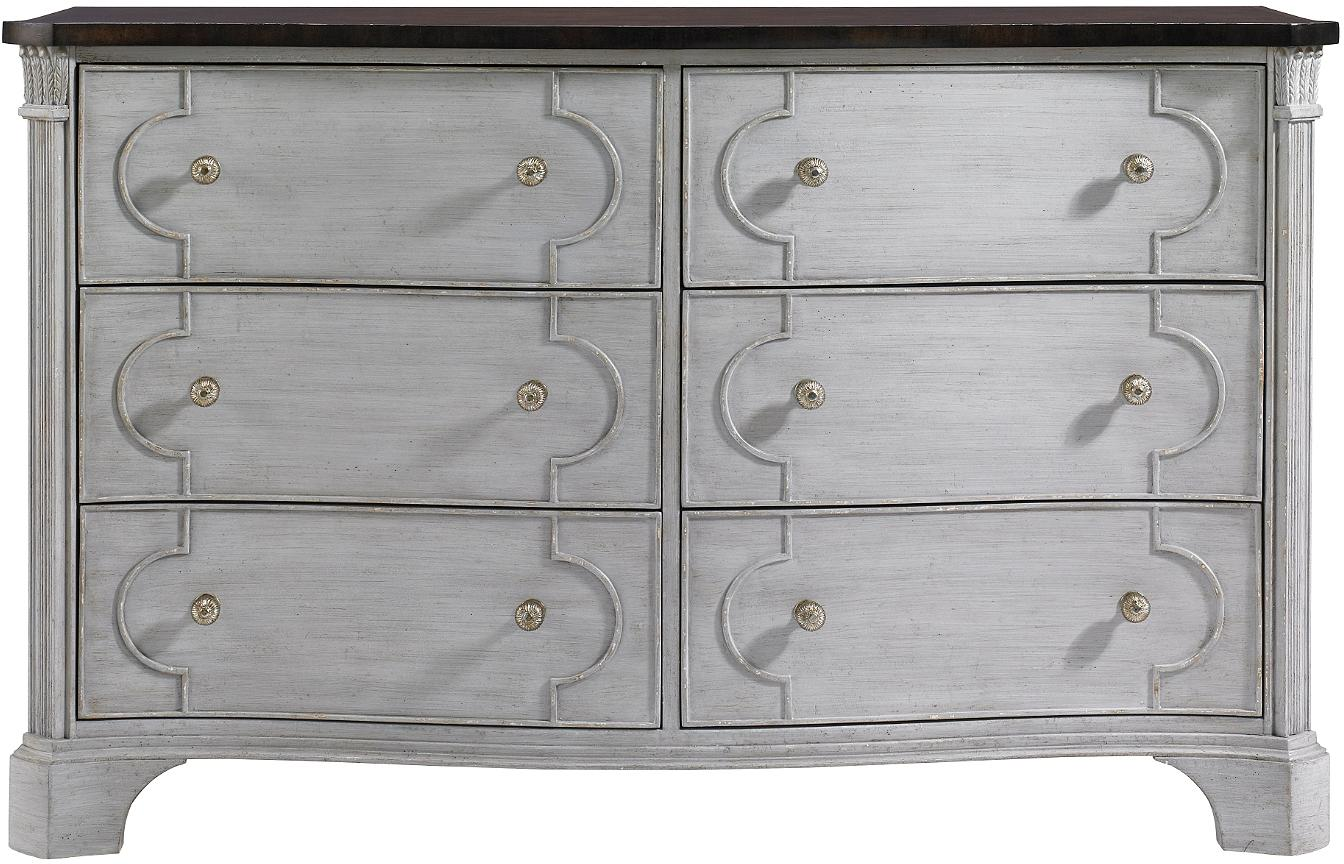 Stanley Furniture Charleston Regency Island House 6 Drawer Dresser - Item Number: 302-53-06