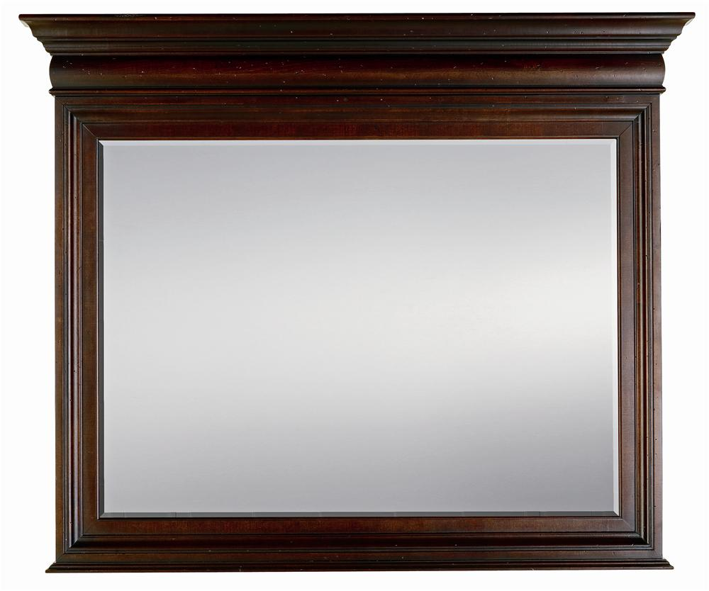 Stanley Furniture City Club Barrister Landscape Mirror - Item Number: 933-13-31