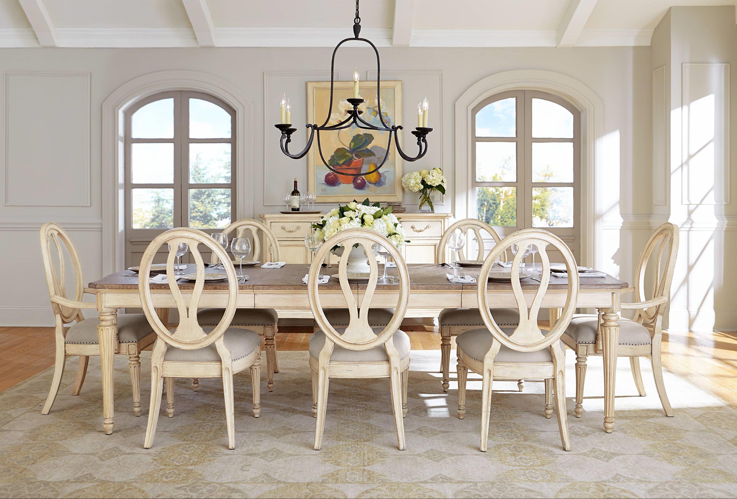 Stanley Furniture European Cottage Formal Dining Room Group - Item Number: 007-23 Dining Room Group 1