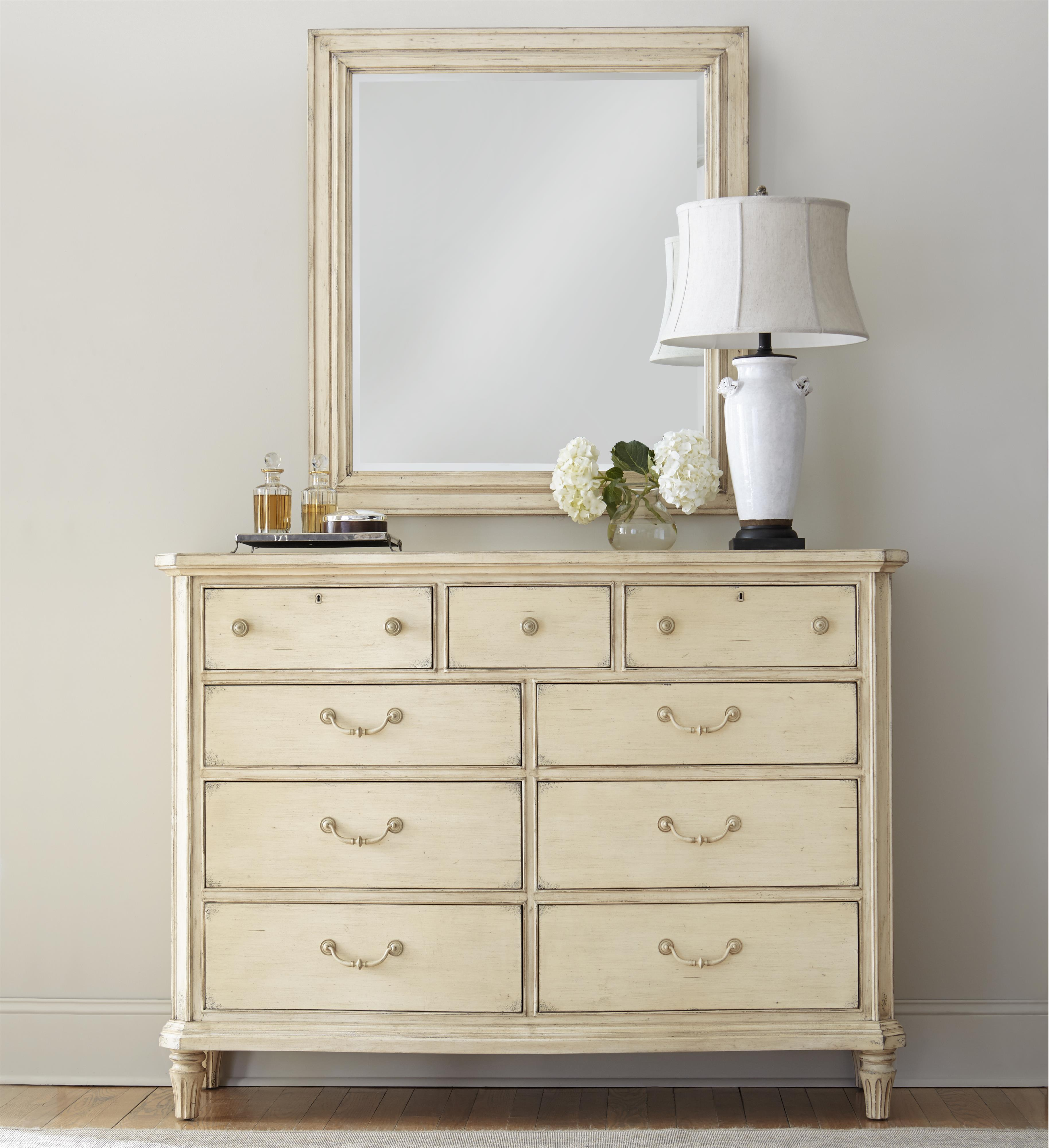 Stanley Furniture European Cottage Dresser with Mirror - Item Number: 007-23-06+30