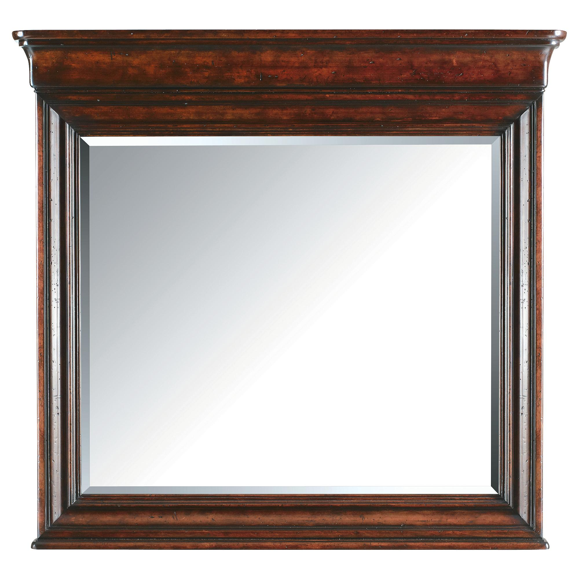 Stanley Furniture The Classic Portfolio - Louis Philippe Landscape Mirror - Item Number: 058-13-30