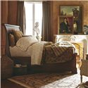 Stanley Furniture The Classic Portfolio - Louis Philippe Queen Sleigh Bed