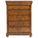 Stanley Furniture Louis Philippe Chest - Item Number: 058-43-13