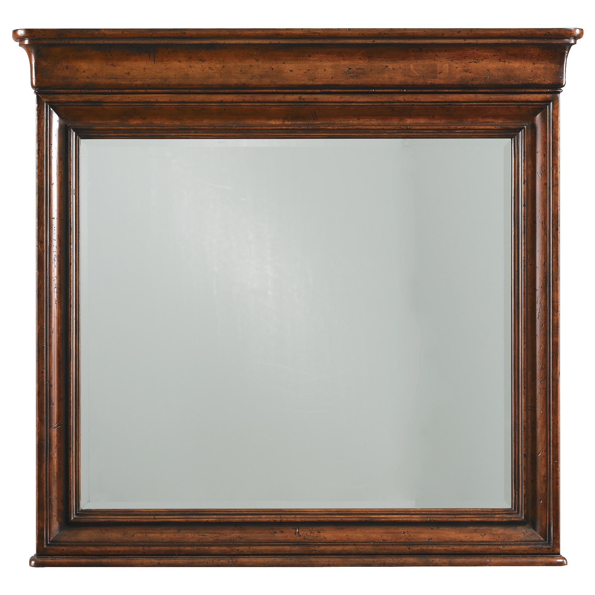 Stanley Furniture The Classic Portfolio - Louis Philippe Landscape Mirror - Item Number: 058-63-30