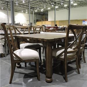 Stanley Furniture Clearance 7 Piece Dining Table Group