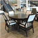 Stanley Furniture Clearance Dining Table w/ 4 Side Chairs - Item Number: 060052170