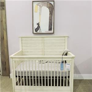 Vanilla Oak Crib
