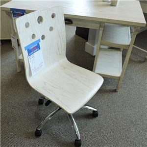 Vanilla Oak Desk Chair