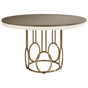 Stanley Furniture Coastal Living Oasis Venice Beach Round Dining Table