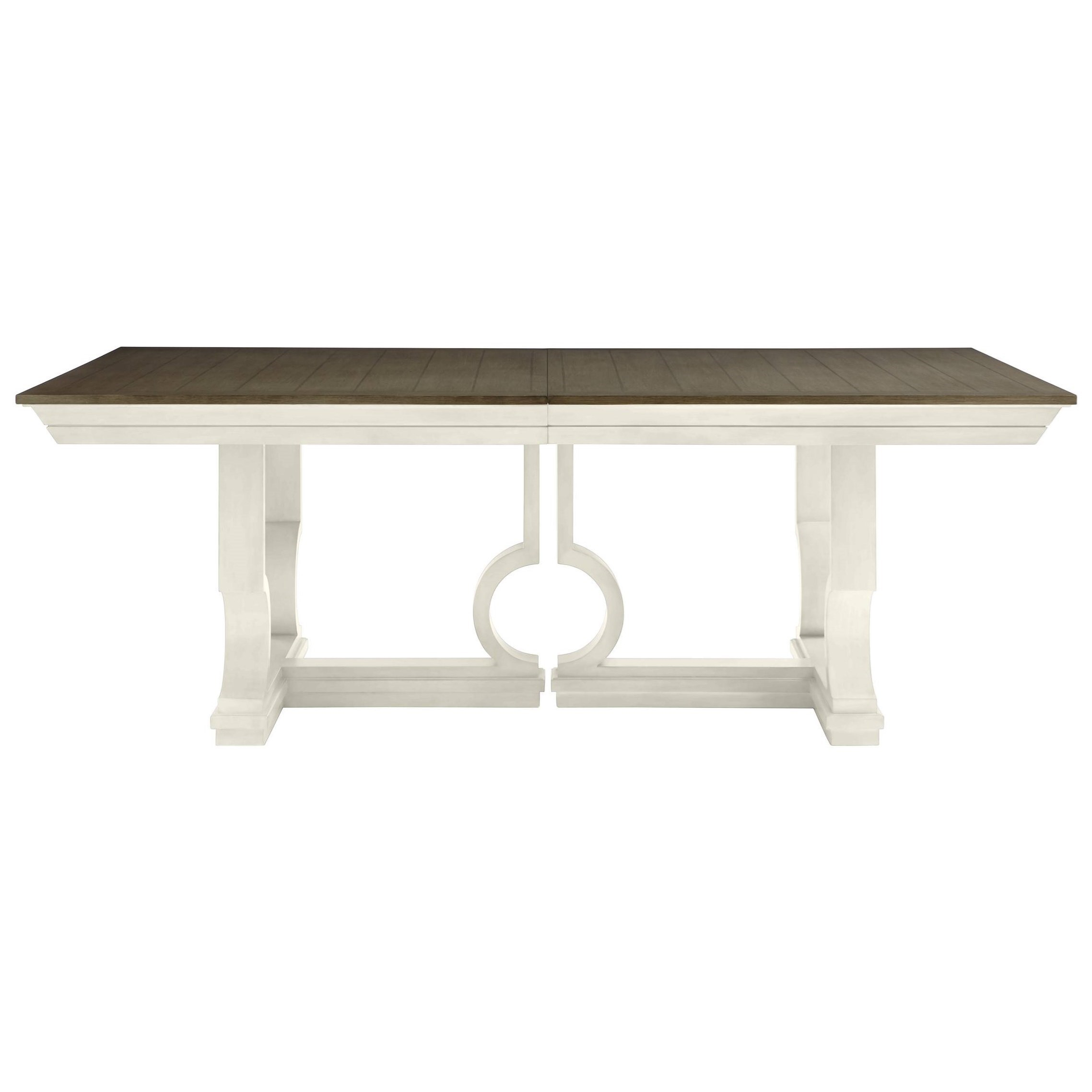 pedestal mn round for espresso savion tables oval dining table