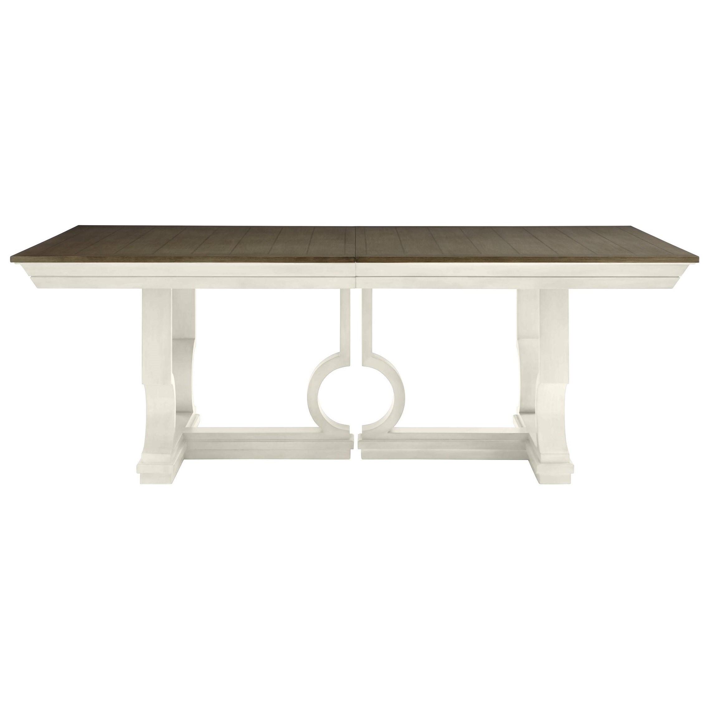 Stanley Furniture Coastal Living Oasis Moonrise Pedestal Dining Table - Item Number: 527-21-36