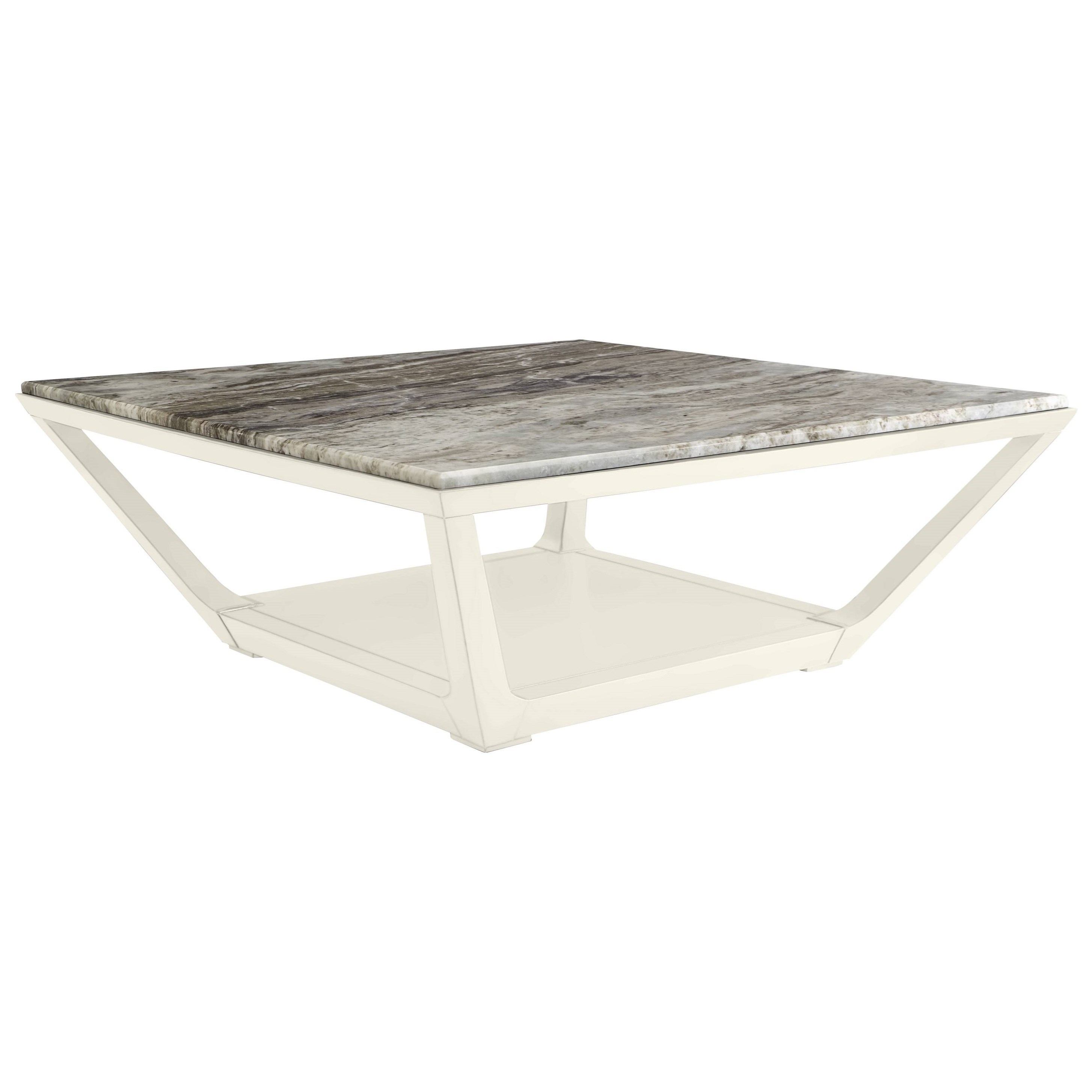 Stanley Furniture Coastal Living Oasis Poseidon Cocktail Table w/ Granite Top - Item Number: 527-25-02+75-102