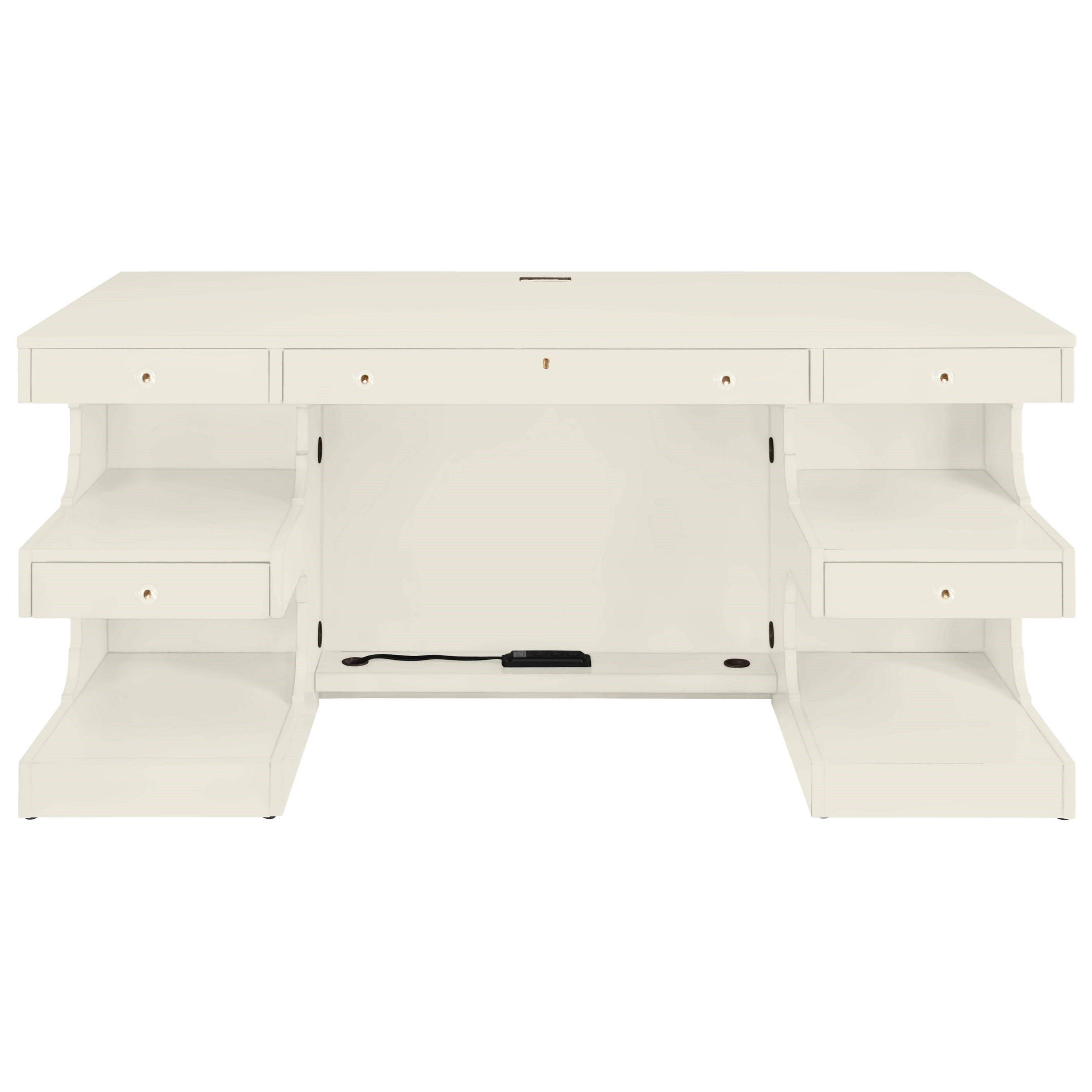 Stanley Furniture Coastal Living Oasis Cape Dutch Writing Desk - Item Number: 527-25-03