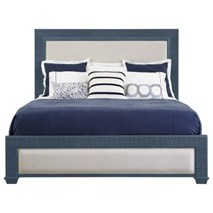 Stanley Furniture Coastal Living Oasis Queen Catalina Panel Bed