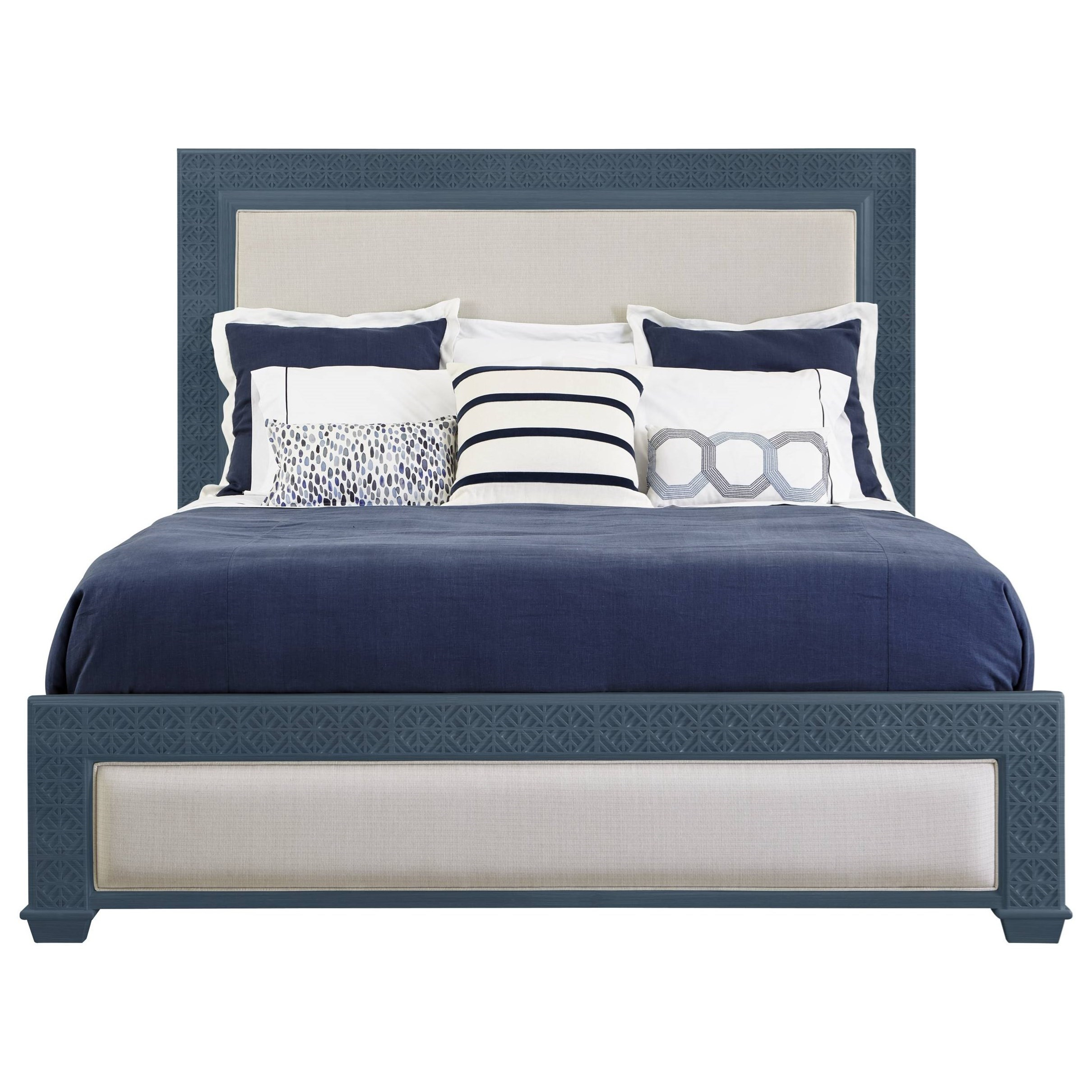 Stanley Furniture Coastal Living Oasis King Catalina Panel Bed - Item Number: 527-43-45
