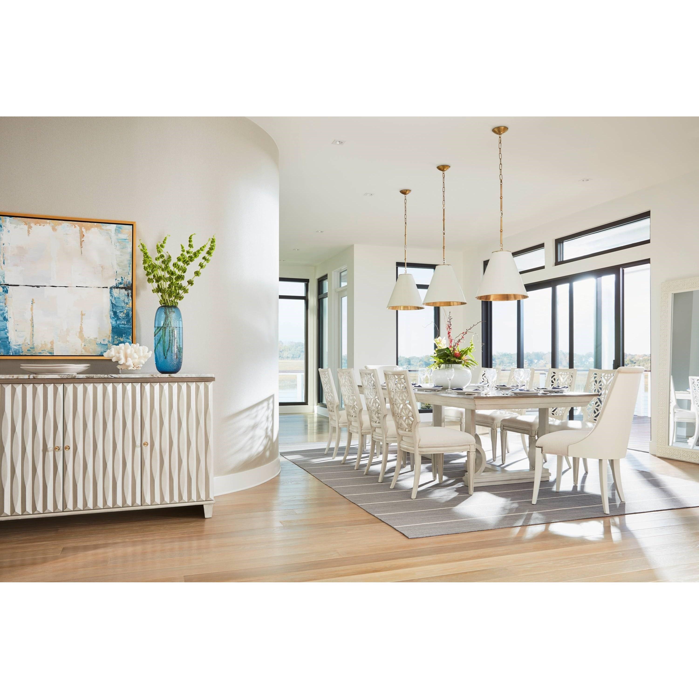 Stanley Furniture Coastal Living Oasis Formal Dining Room Group - Item Number: 527-5 Dining Room Group 2
