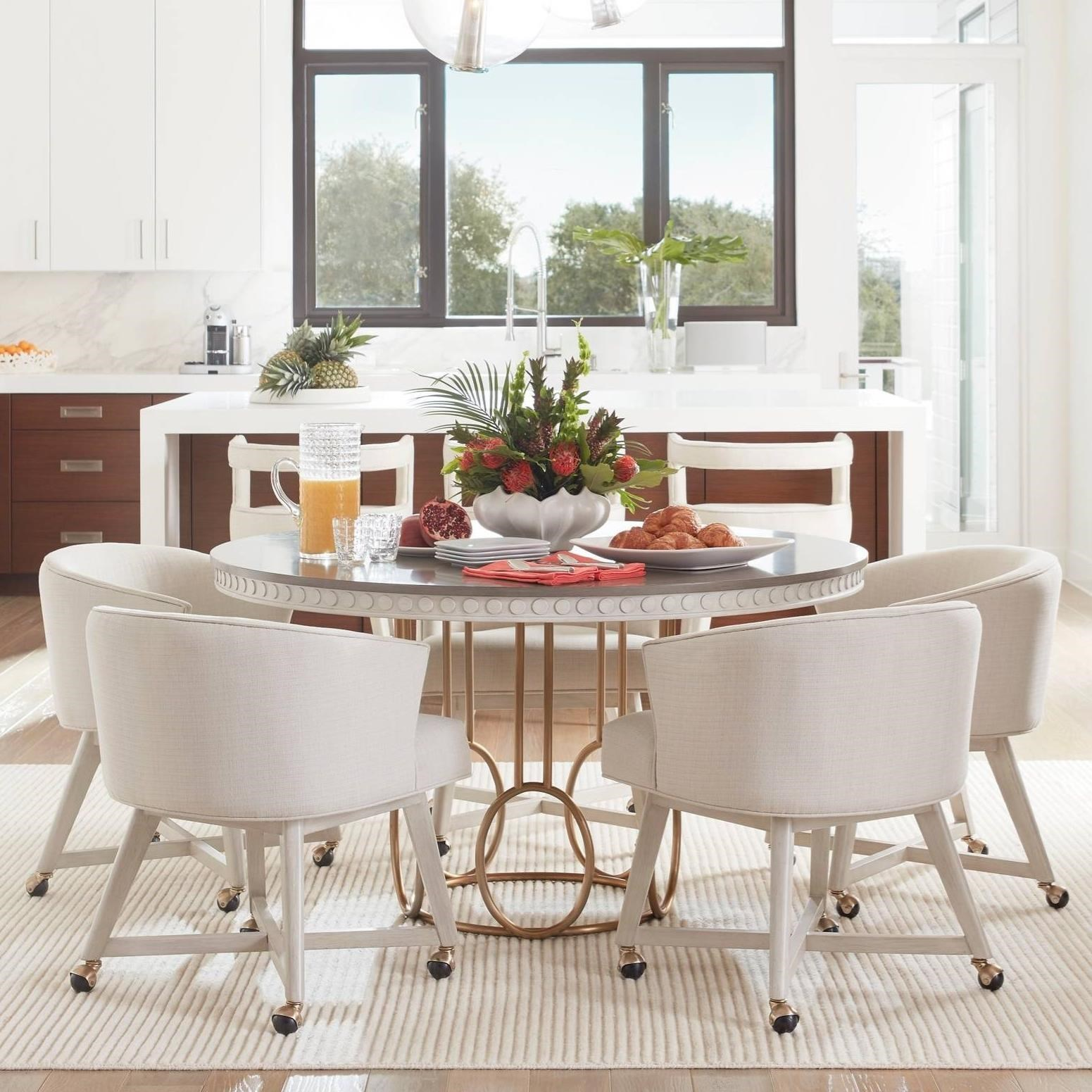 Stanley Furniture Coastal Living Oasis 5-Piece Venice Beach Table Set - Item Number: 527-51-30+4x69