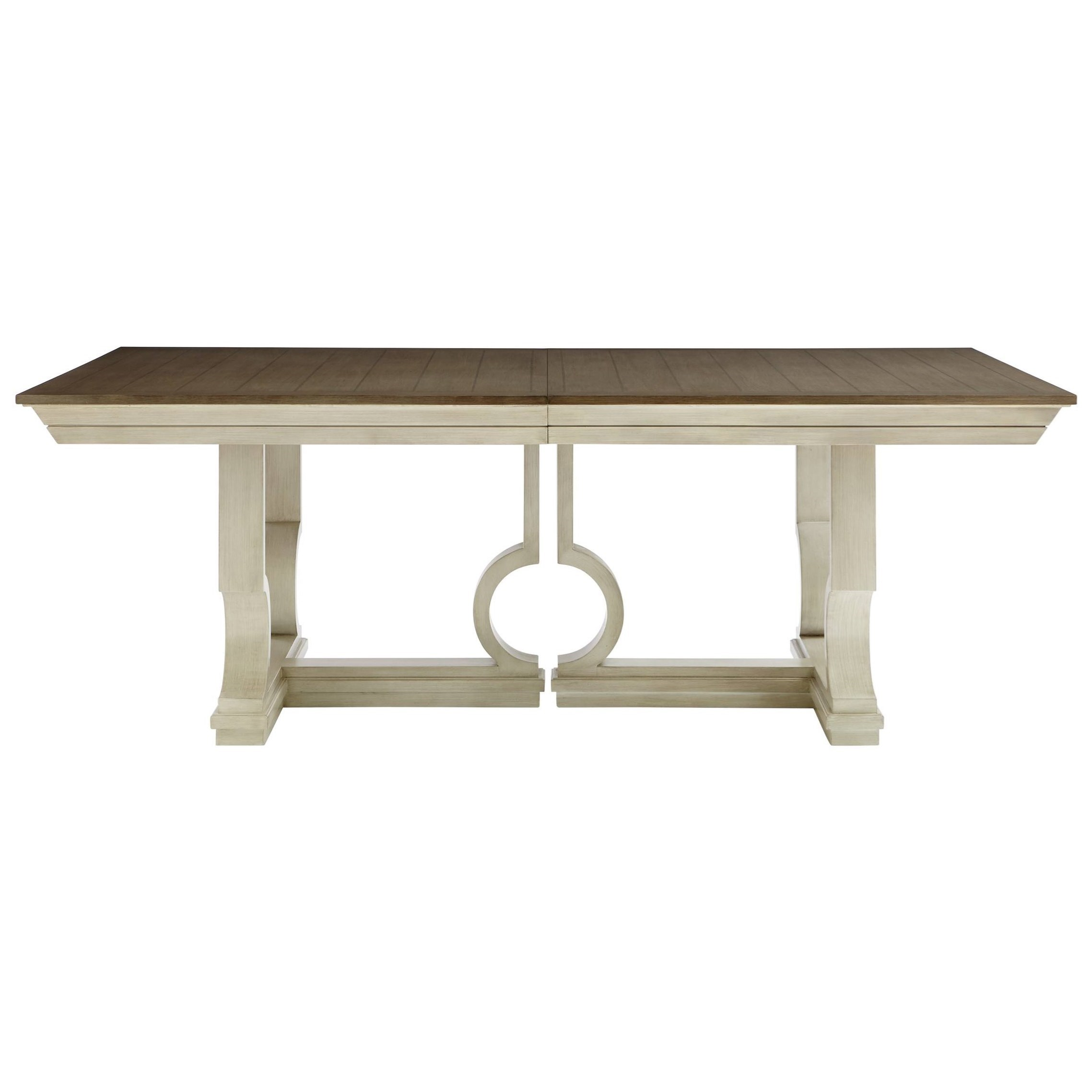 Stanley Furniture Coastal Living Oasis Moonrise Pedestal Dining Table - Item Number: 527-51-36