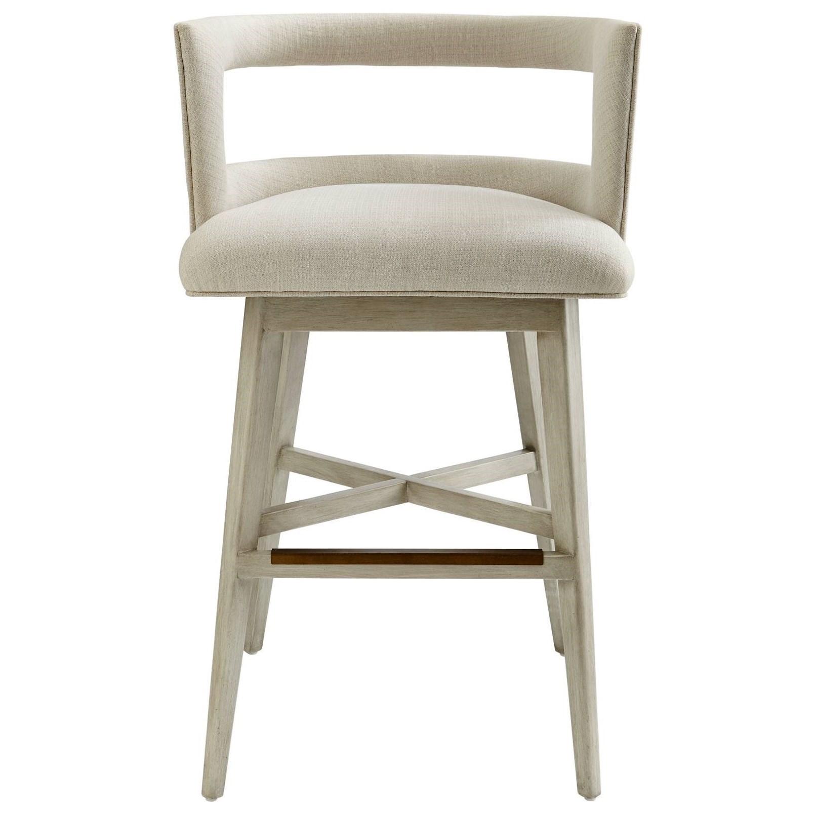 Stanley Furniture Coastal Living Oasis Crestwood Barstool - Item Number: 527-51-73