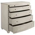 Stanley Furniture Coastal Living Oasis Ocean Park Bachelor's Chest with Pull-Out Shelf