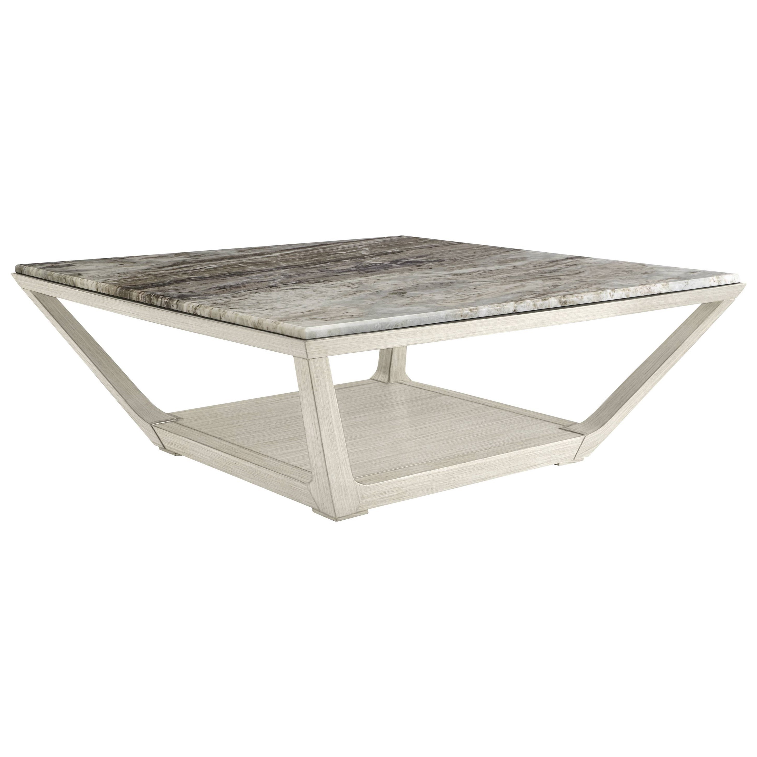Stanley Furniture Coastal Living Oasis Poseidon Cocktail Table w/ Granite Top - Item Number: 527-55-02+75-102