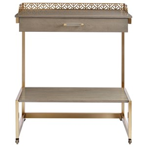 Stanley Furniture Coastal Living Oasis Catalina Bar Cart