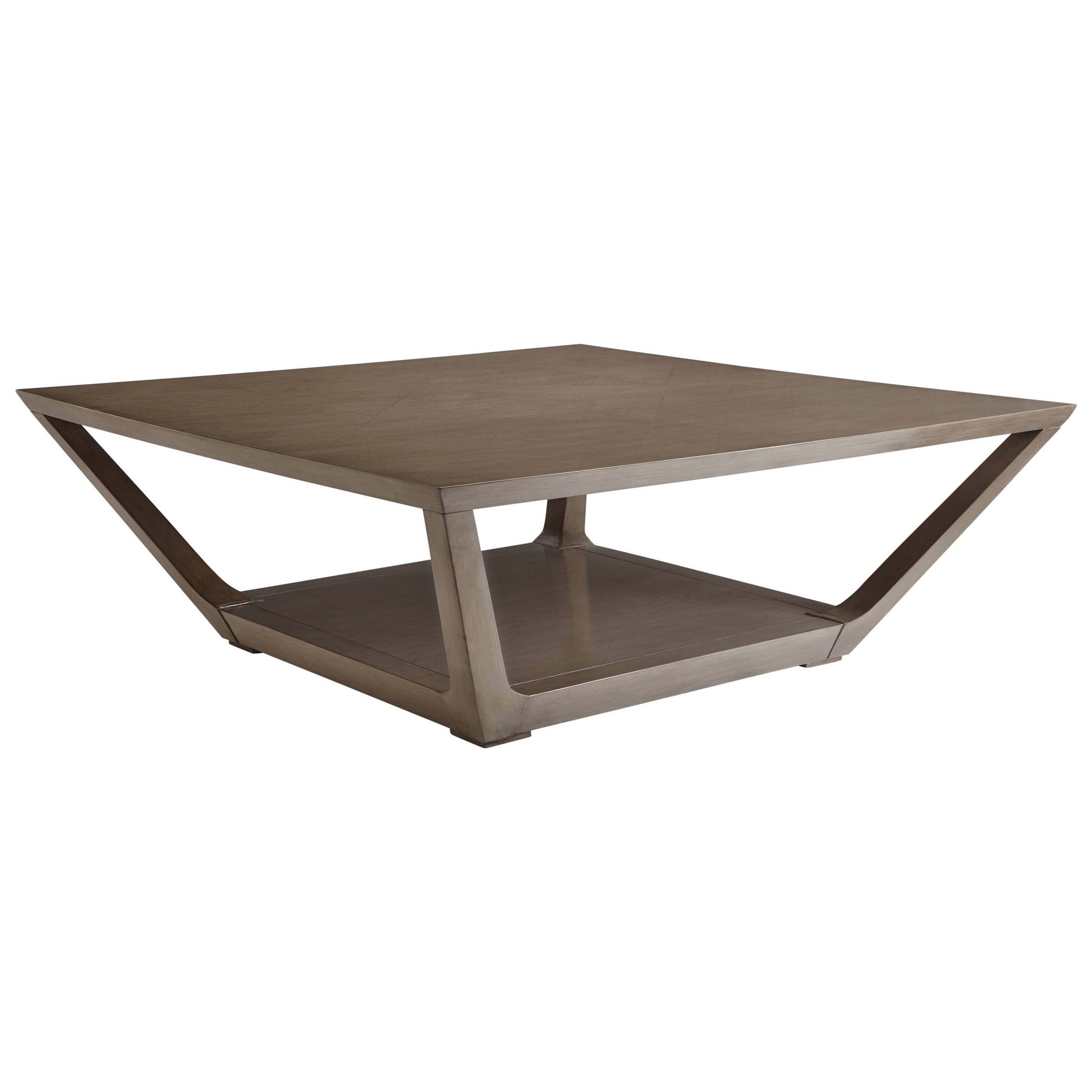 Stanley Furniture Coastal Living Oasis Poseidon Cocktail Table With Square Top Miskelly