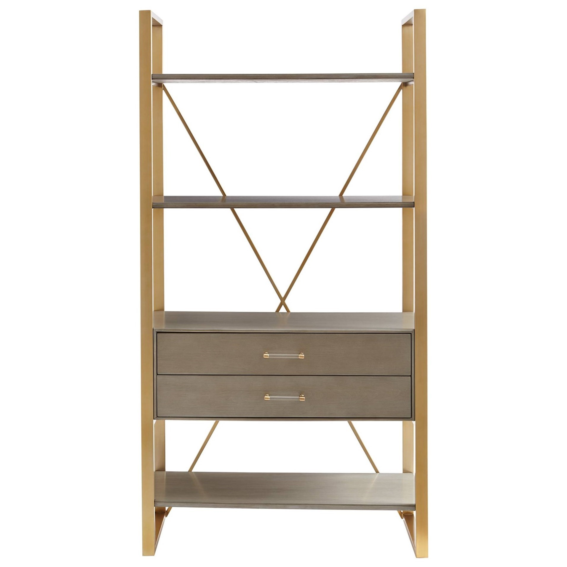 Stanley Furniture Coastal Living Oasis Harwell Bookcase - Item Number: 527-65-18