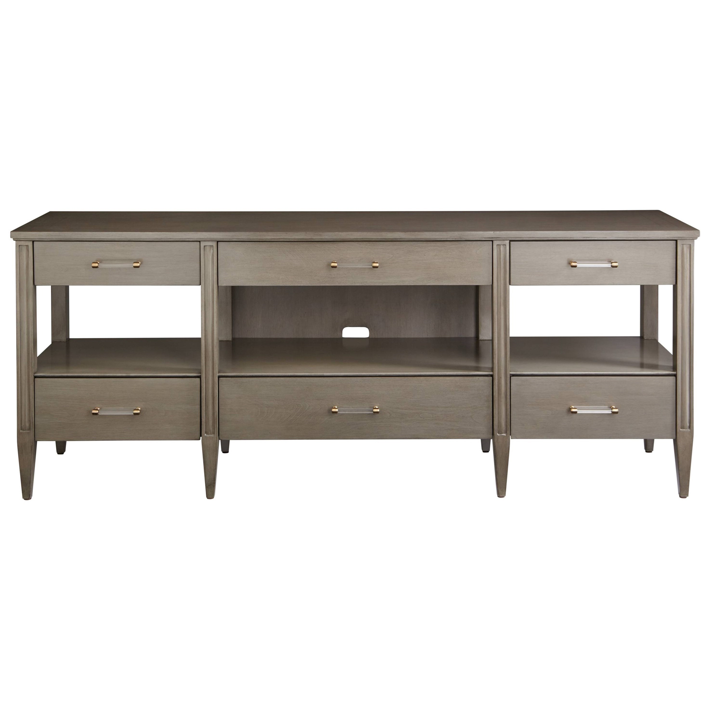 Stanley Furniture Coastal Living Oasis Mulholland Media Console - Item Number: 527-65-30