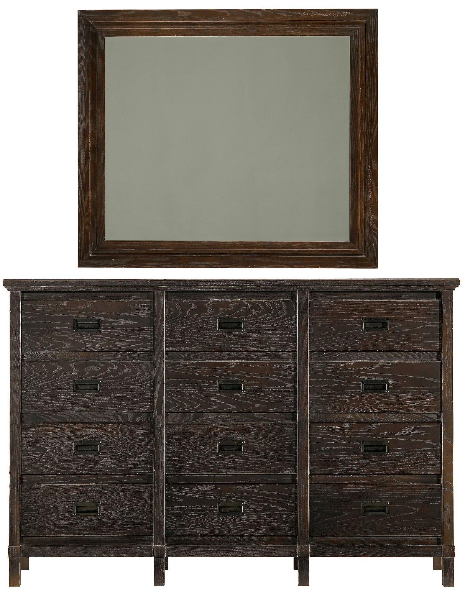 Stanley Furniture Coastal Living Resort Haven's Harbor Dresser & Day's End Mirror - Item Number: 062-13-05+31