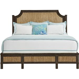 Stanley Furniture Coastal Living Resort Queen Water Meadow Woven Bed