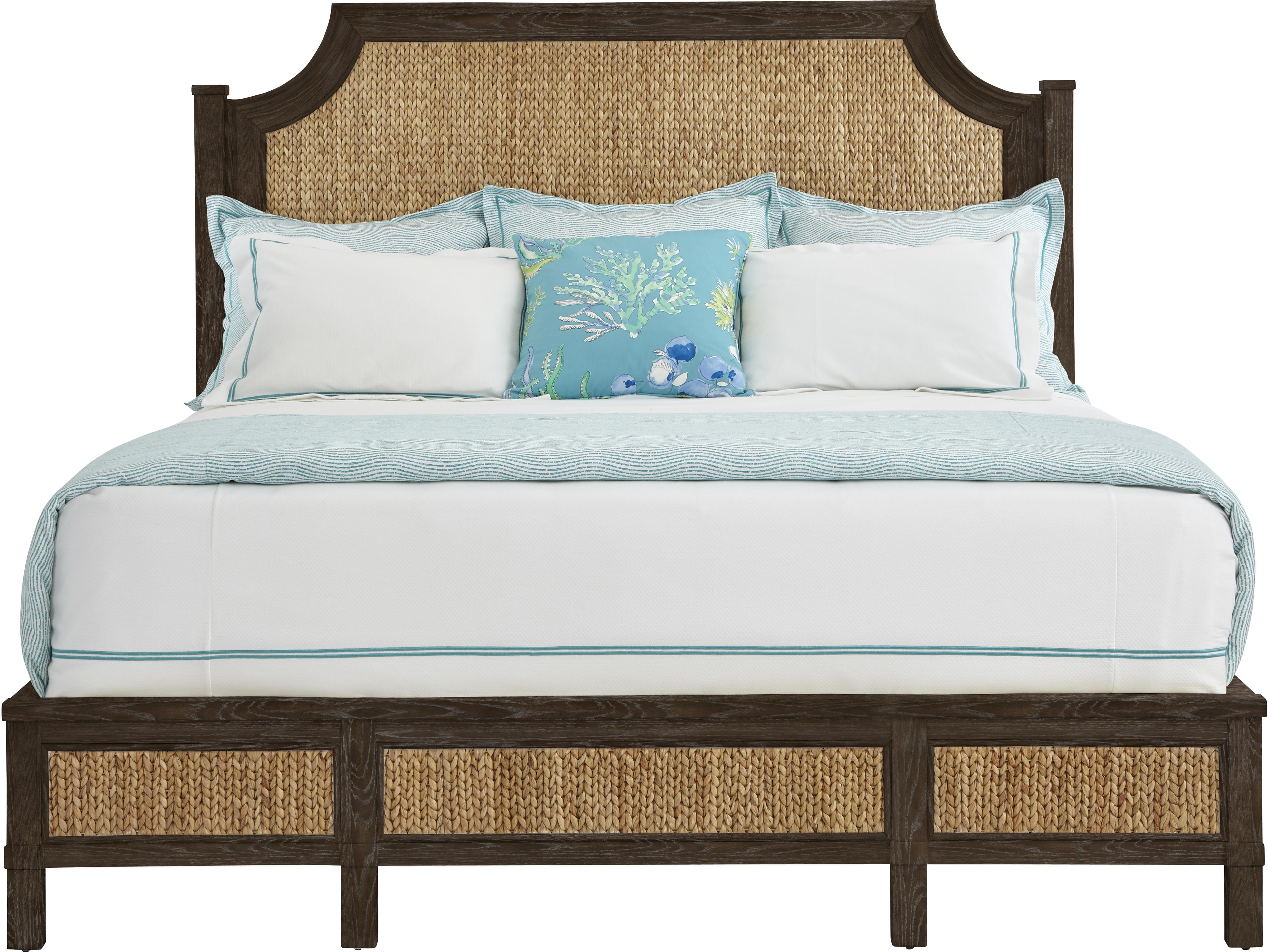 Stanley Furniture Coastal Living Resort California King Water Meadow Woven Bed - Item Number: 062-13-49