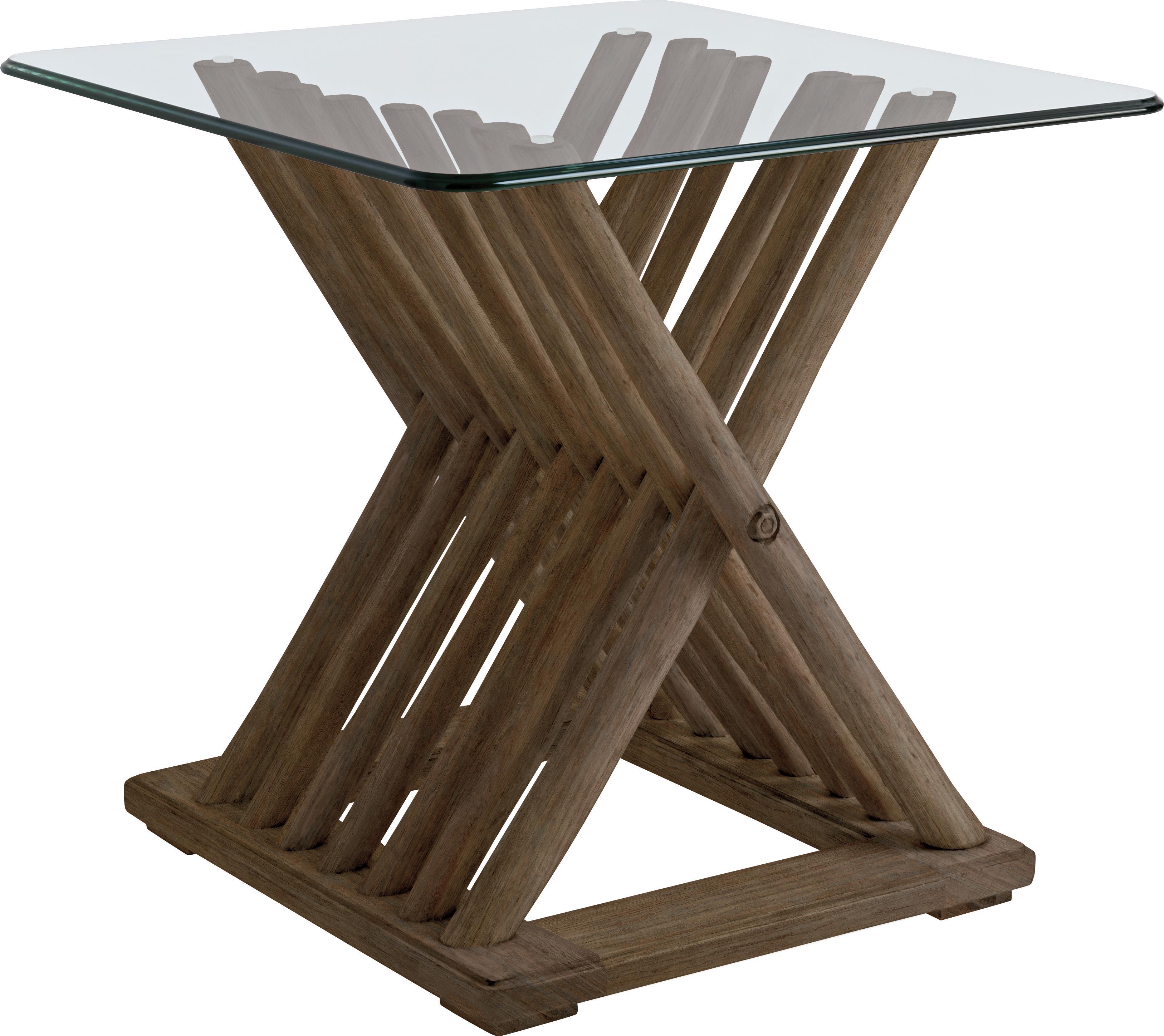 Stanley Furniture Coastal Living Resort Driftwood Flats End Table - Item Number: 062-15-14