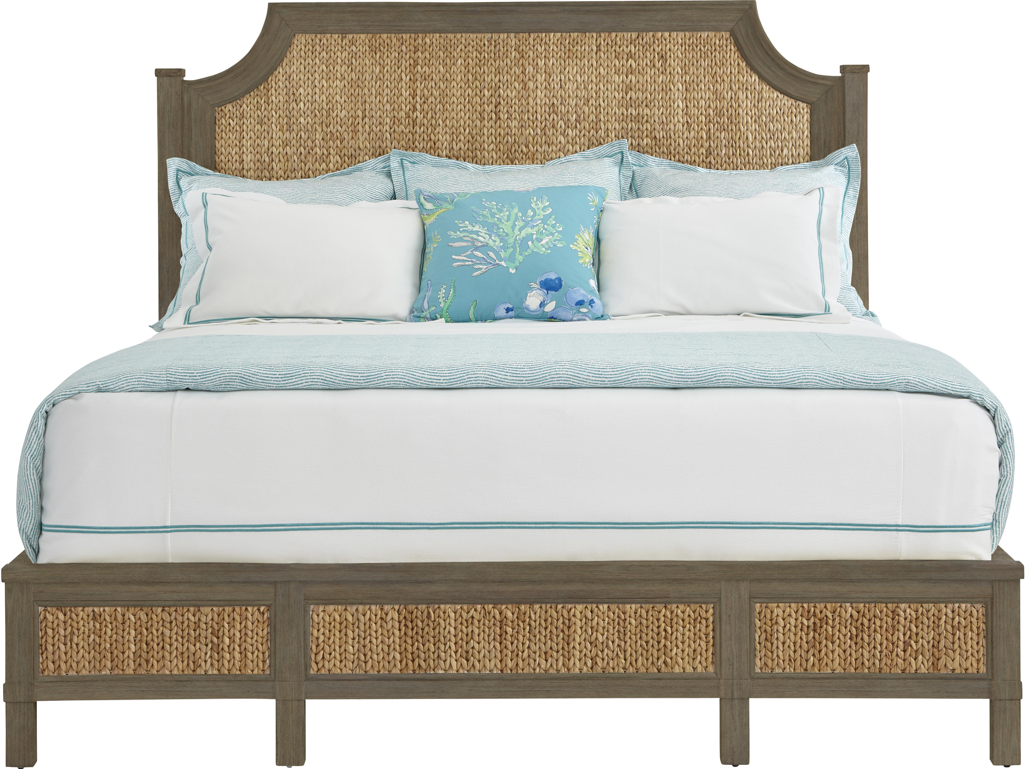 Stanley Furniture Coastal Living Resort King Water Meadow Woven Bed - Item Number: 062-33-46