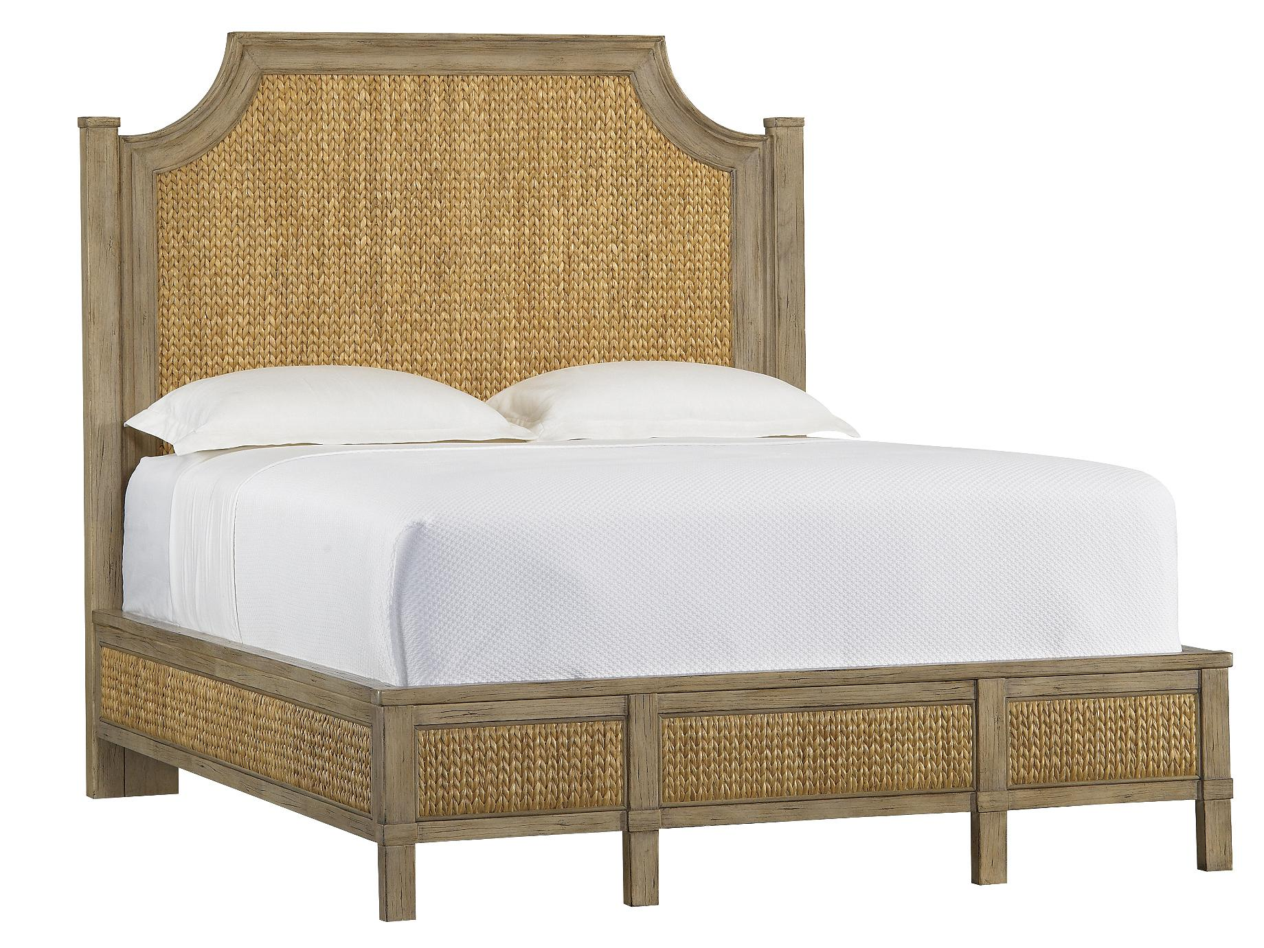 Stanley Furniture Coastal Living Resort California King Water Meadow Woven Bed - Item Number: 062-73-49