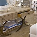 Stanley Furniture Coastal Living Resort Windward Dune Cocktail Table - Convenient Drawers for Storage of Household Items