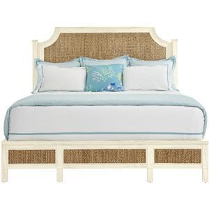 Stanley Furniture Coastal Living Resort California King Water Meadow Woven Bed