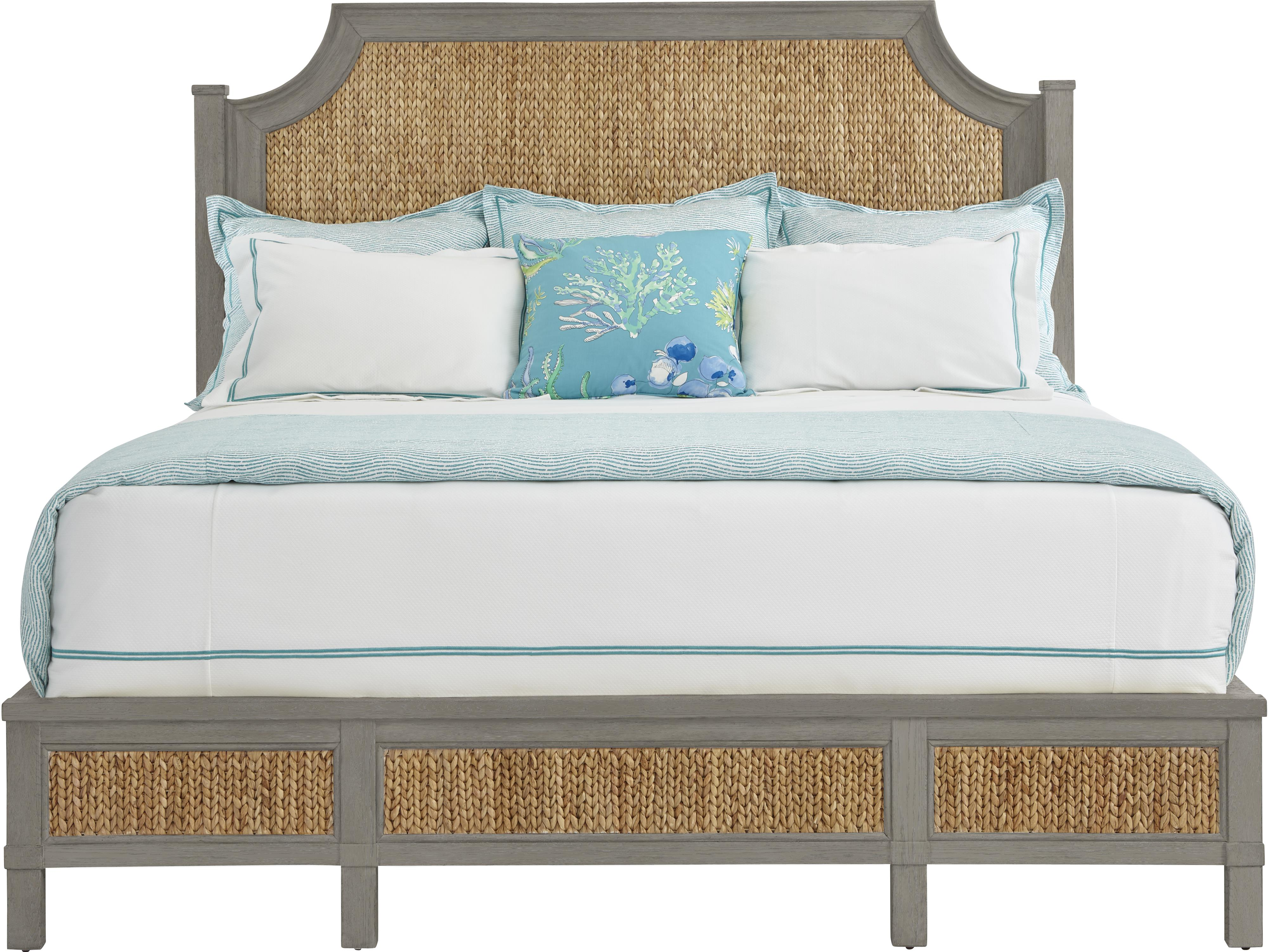 Stanley Furniture Coastal Living Resort King Water Meadow Woven Bed - Item Number: 062-C3-46
