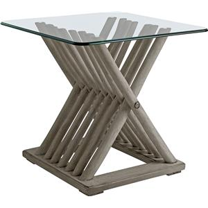 Stanley Furniture Coastal Living Resort Driftwood Flats End Table