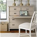Stanley Furniture Coastal Living Resort Haven's Harbor Media Chest with Pull Out Work Surface - Pull Out Work Surface
