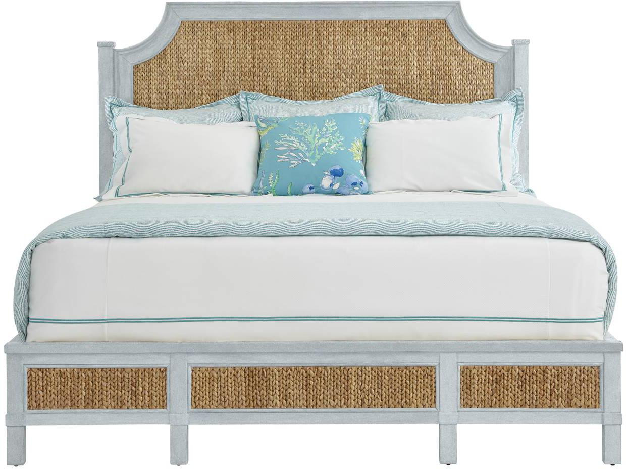 Stanley Furniture Coastal Living Resort Queen Water Meadow Woven Bed - Item Number: 062-H3-41