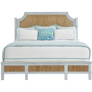Stanley Furniture Coastal Living Resort King Water Meadow Woven Bed