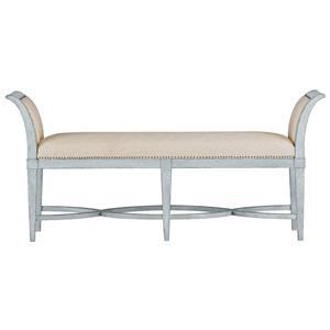 Stanley Furniture Coastal Living Resort Surfside Bed End Bench