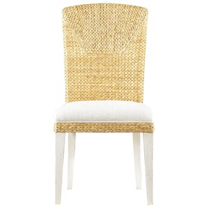 Stanley Furniture Coastal Living Resort Water's Edge Woven Side Chair