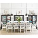 Stanley Furniture Coastal Living Retreat 11-Piece Rectangular Leg Table Set